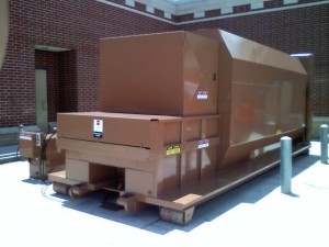 Compactor repair, maintenance and service by KeeService Company