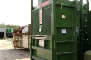 Vertical Baler from KeeService Company