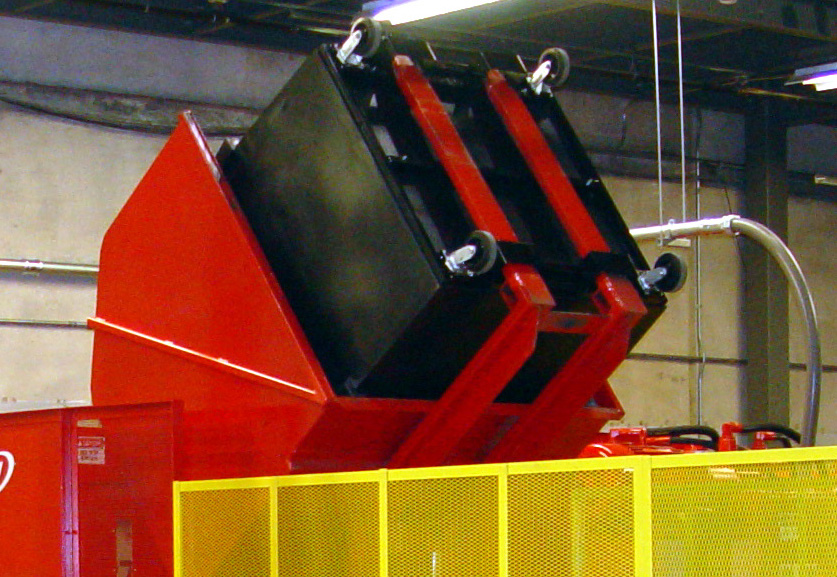 Cart Dumper From Keeservice Company Trash Compactors